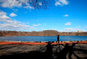 Weequahic Lake - picture by  Jennifer Brown/The Star-Ledger