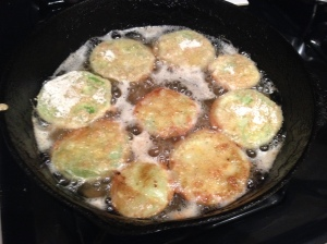Green Tomatoes Frying